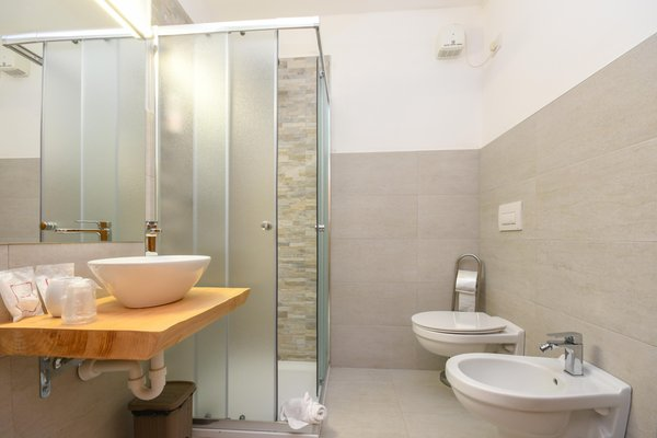 Foto del bagno Garni-Hotel Bepy