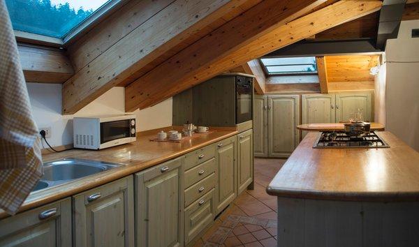 Foto della cucina Holidays Dolomiti