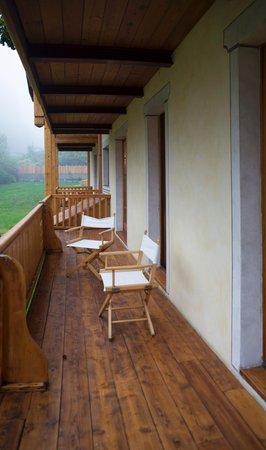 Foto vom Balkon Holidays Dolomiti