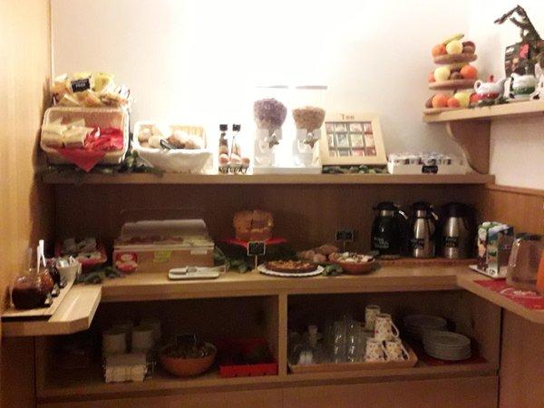 La colazione Affittacamere Casa Salvaterra