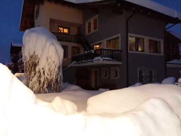 Foto esterno in inverno Crepaz