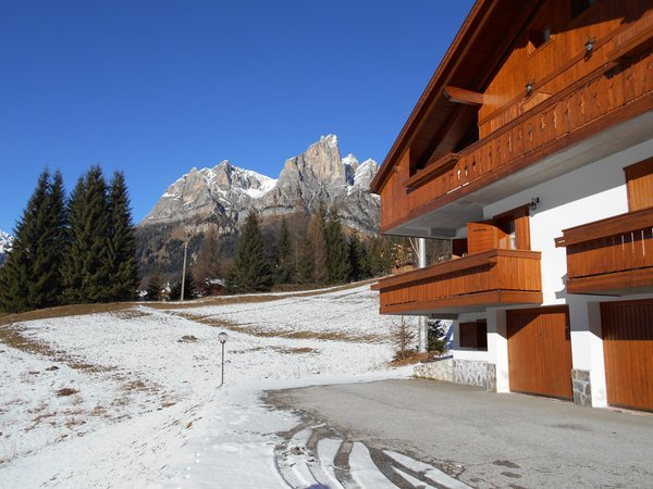 Foto invernale di presentazione Appartamenti Alda