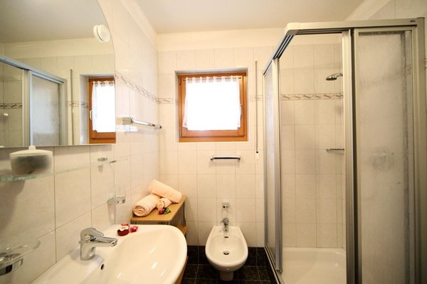 Photo of the bathroom Apartments Ciasa Rudiferia