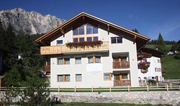 Foto estiva di presentazione Appartamenti Ciasa Rudiferia