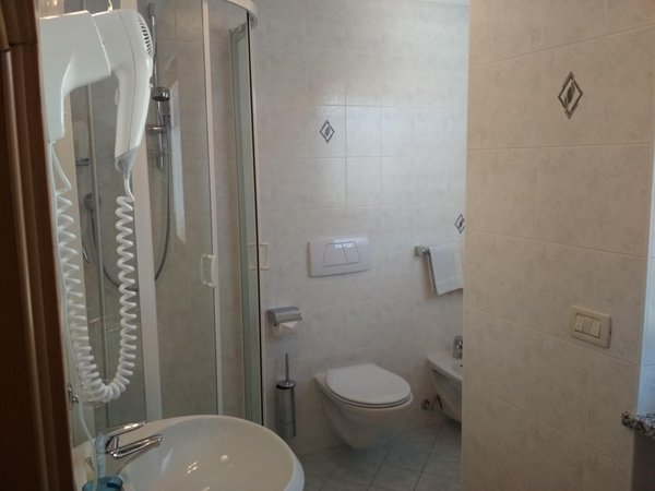 Foto del bagno Appartamento La Viola