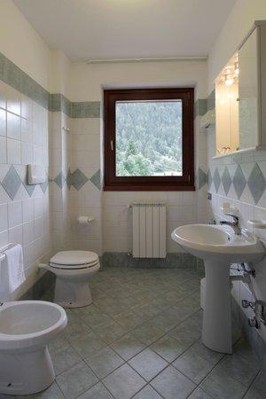 Foto del bagno Residence Al Maniero