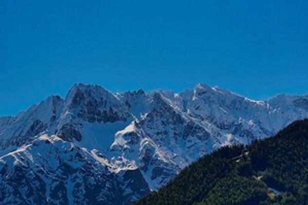 Panorama Temù (Passo Tonale)
