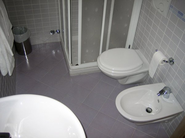 Foto del bagno Bed & Breakfast La Genziana