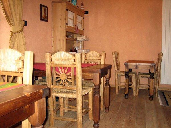 Il ristorante Temù (Passo Tonale) La Genziana