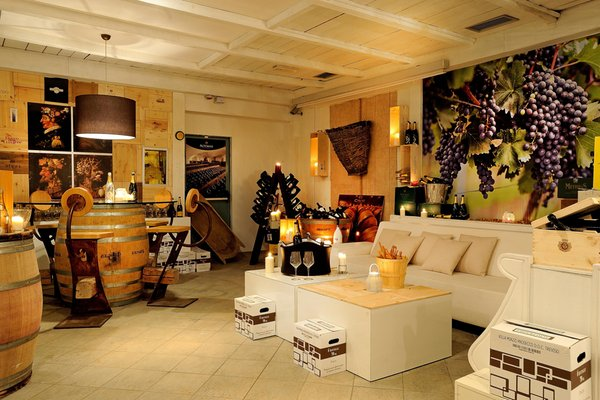 La cantina dei vini Passo Tonale Grand Hotel Paradiso