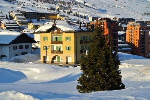 Foto invernale di presentazione Botton d'Oro - Appartamenti