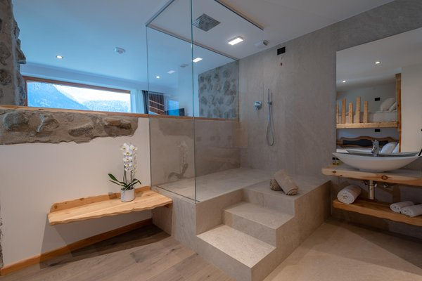 Photo of the bathroom Hotel Chalet al Foss Alp Resort