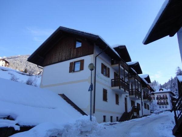 Foto invernale di presentazione Ciasa Longiarif - Appartamenti 4 genziane