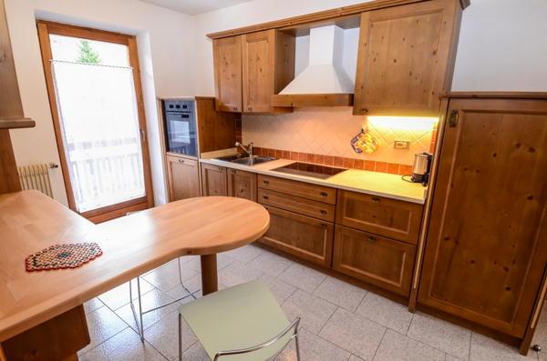 Foto della cucina Ciasa Longiarif