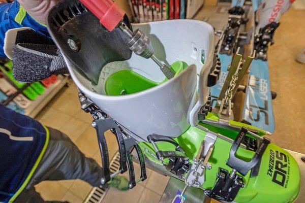 Foto der Ausrüstung