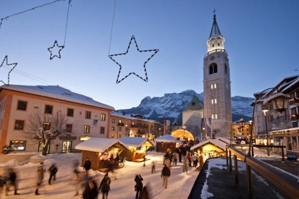 Foto invernale di presentazione Cortina d'Ampezzo - Associazione Albergatori