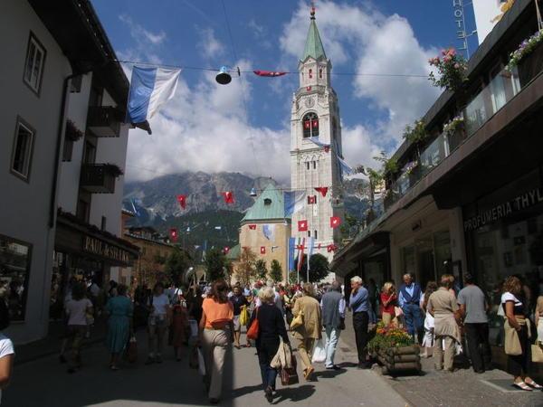 Foto esterno in estate Cortina d'Ampezzo