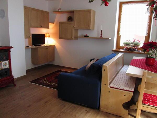 La zona giorno Vecchia Latteria - Appartamenti