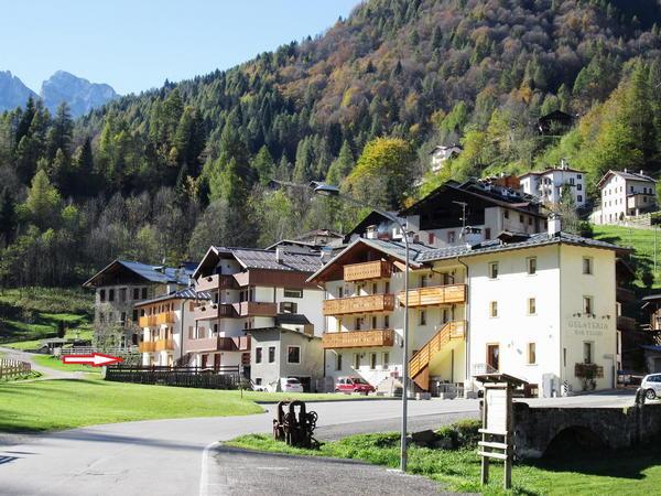 La posizione Appartamenti Vecchia Latteria Val di Zoldo - Dont
