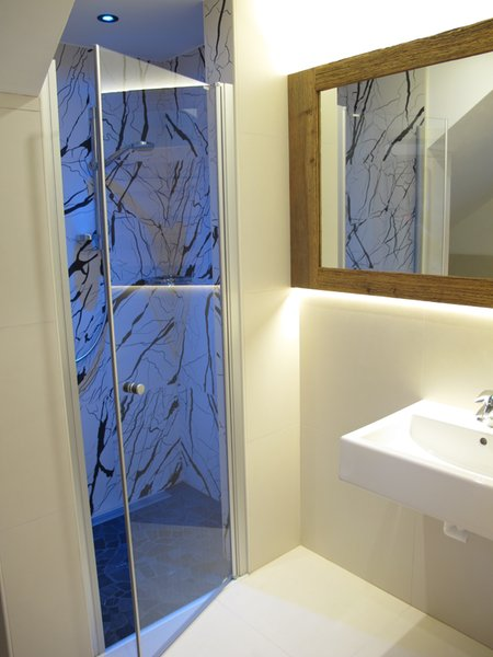 Foto del bagno Appartamenti Alpine Mountain Chalet