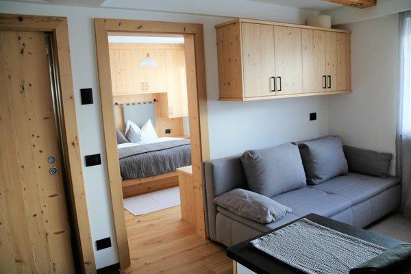 Der Wohnraum Ferienwohnungen Ciasa d'Lista