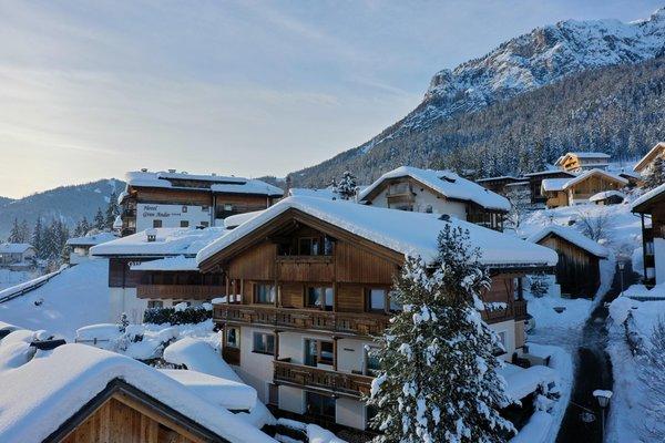 Winter Präsentationsbild Ferienwohnungen Ciasa d'Lista