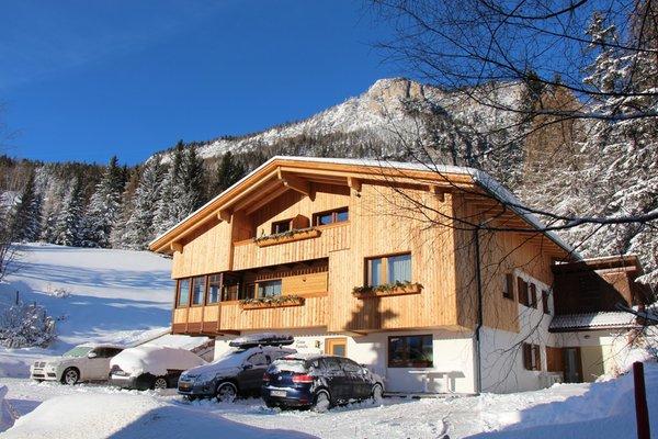 Foto invernale di presentazione Appartamenti Ciasa Fornata