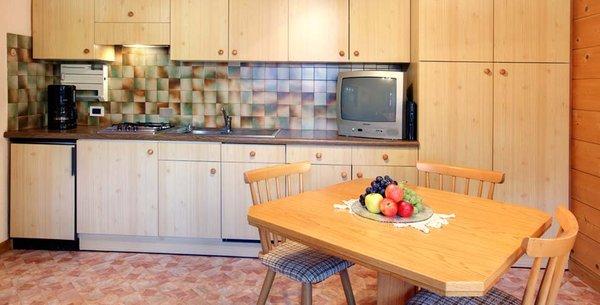 Foto della cucina Ciasa Fornata