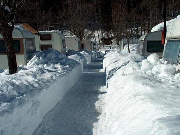 Foto esterno in inverno Presanella