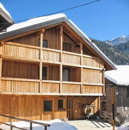 Foto invernale di presentazione Maso Bertolini - Appartamenti
