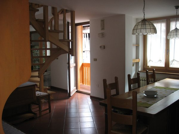 La zona giorno Maso Bertolini - Appartamenti