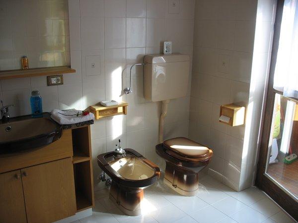 Foto del bagno Appartamenti Maso Bertolini