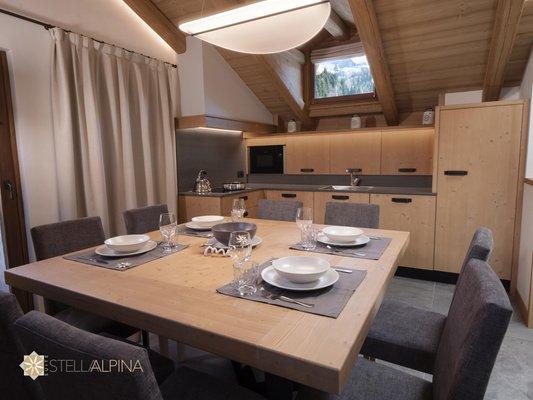 Foto della cucina Agenzia Pelmotour