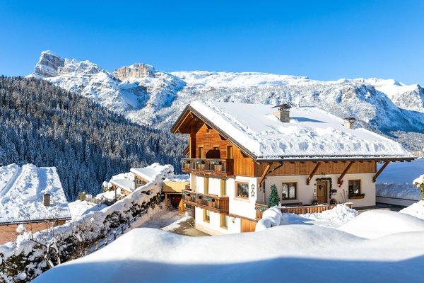 Foto invernale di presentazione Appartamenti Ciasa Odlana