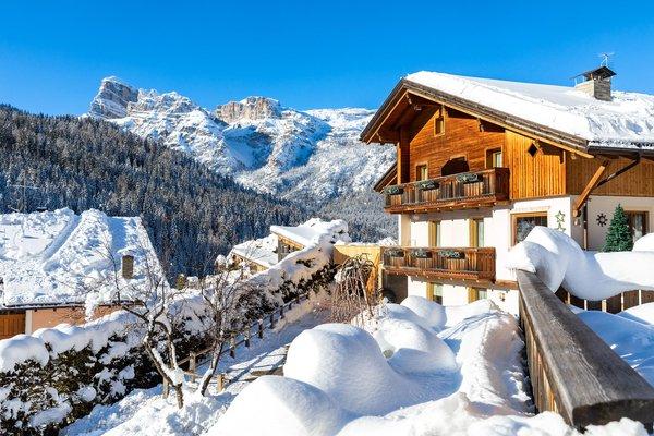 Foto esterno in inverno Ciasa Odlana