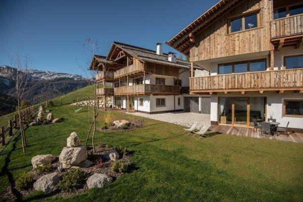 Foto estiva di presentazione Appartamenti Chalet Bandiarac