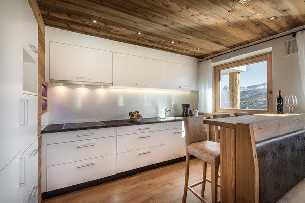 Foto della cucina Chalet Bandiarac