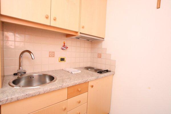 Foto von der Küche Ciasa Parom