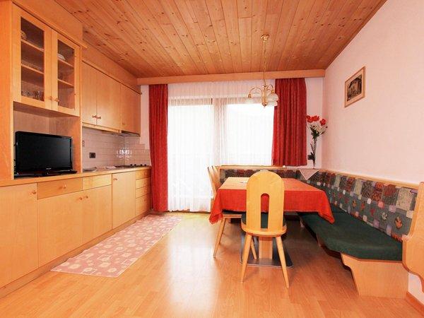 Der Wohnraum Ferienwohnungen Ciasa Parom