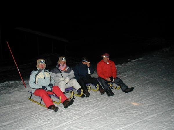 Winter presentation photo Night Sleigh Rides Martin