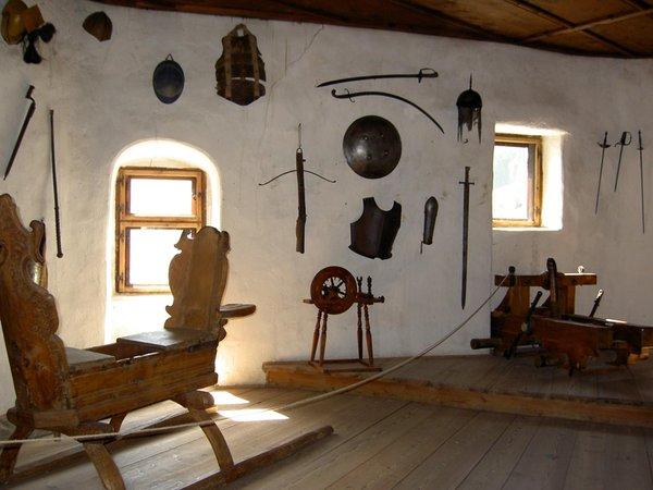 Le parti comuni Castel Taufers