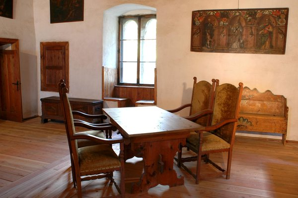 La zona giorno Castel Taufers - null