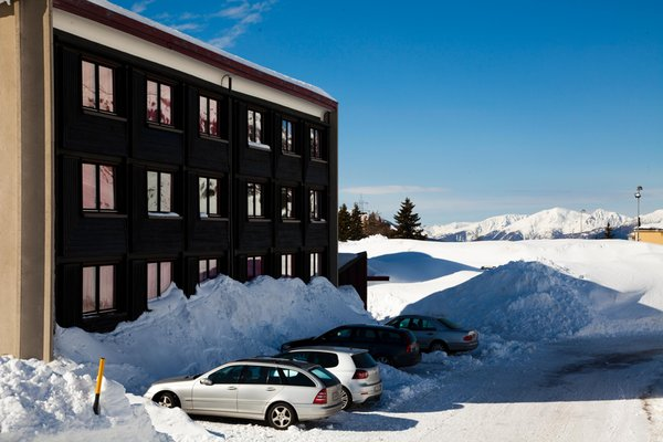 Foto esterno in inverno Savoia