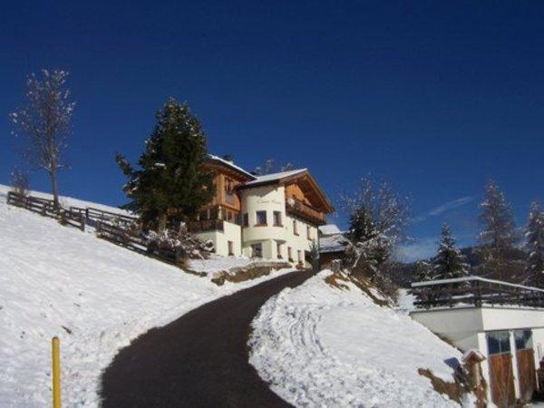 Winter presentation photo Farmhouse apartments Ciasa Hones