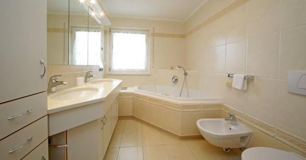 Foto del bagno Appartamenti Ciasa Settsass