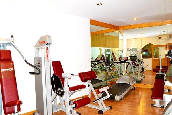 Foto della zona fitness Miraval Hotel