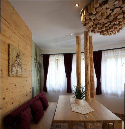 La zona giorno Pineta Hotels Nature Wellness Resort