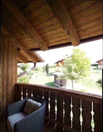 Foto del balcone Pineta Hotels Nature Wellness Resort