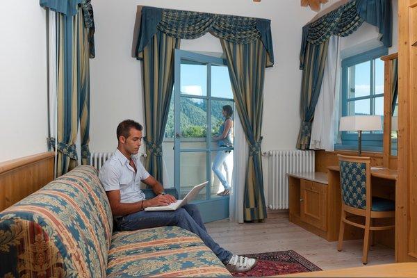 La zona giorno Bed & Breakfast La Quiete Resort