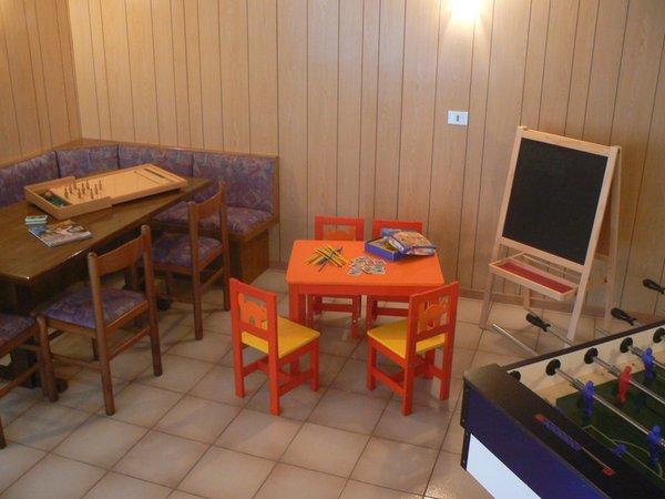 La sala giochi Hotel Al Larice